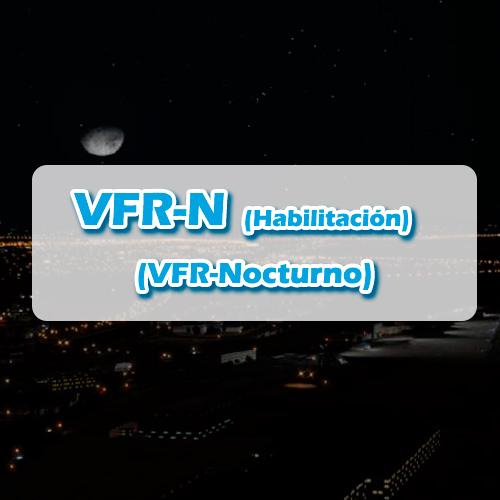 Habilitación VFR-N (VFR Nocturno)